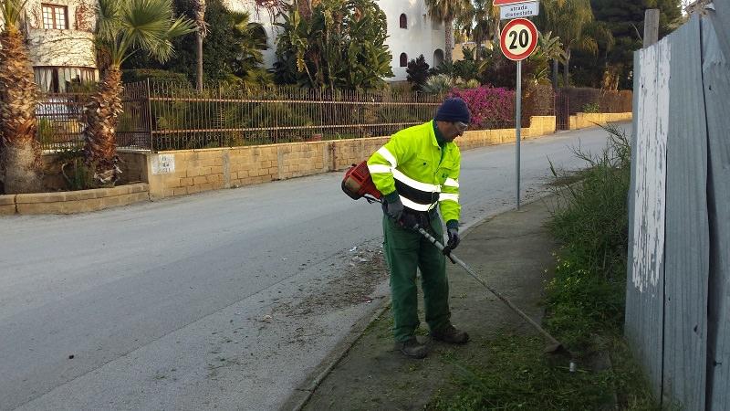 Agrigento più pulita e ordinata: intervento Iseda e Sea in gran parte della città