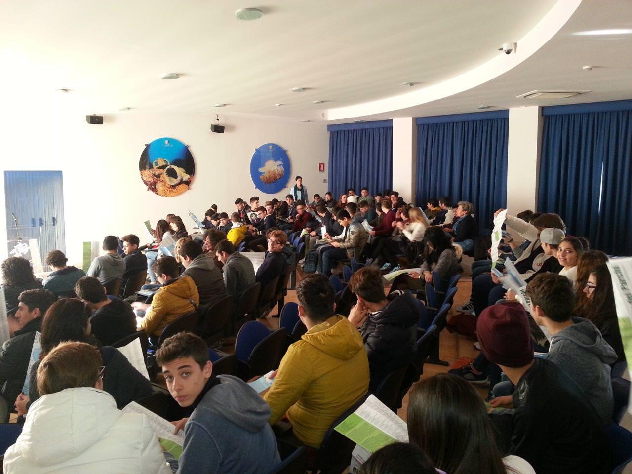 Duecento alunni a lezione sulla Biodiversità al Plemmirio