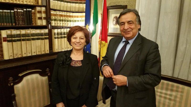 """Palermo, Orlando riceve il nuovo prefetto: """"Ci sarà grande collaborazione"""""""