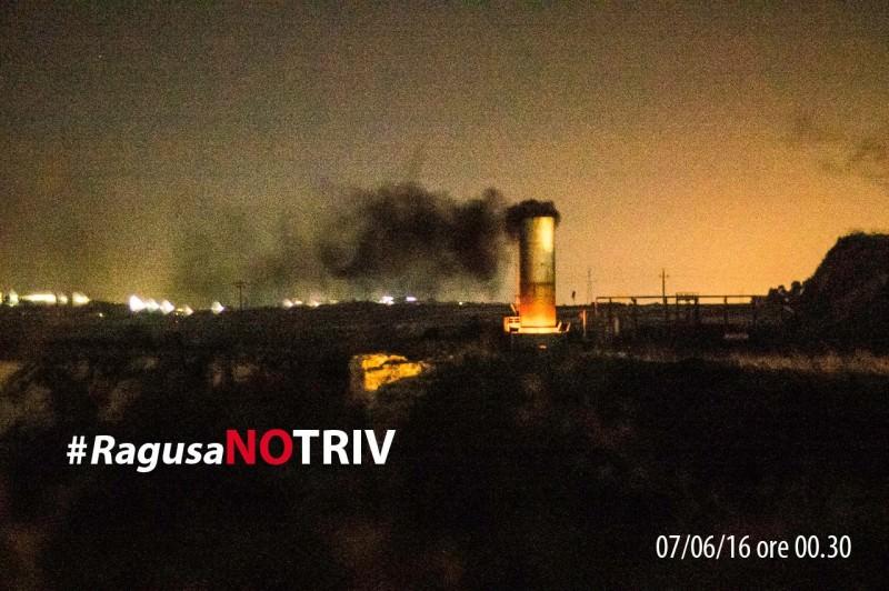 Ragusa, incidente e fiamme al centro Eni: intervengono i vigili del fuoco