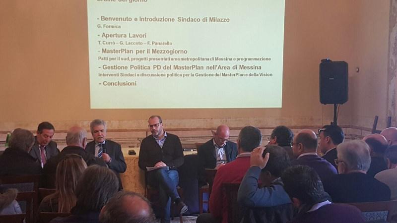 Milazzo, incontro a Palazzo D'Amico per discutere del Masterplan