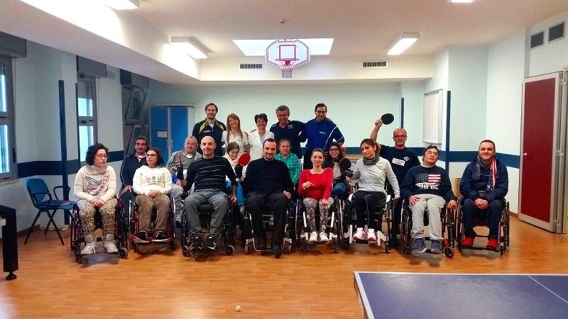 Tennis-tavolo, successi a Santa Venerina per gli atleti di Unità Spinale