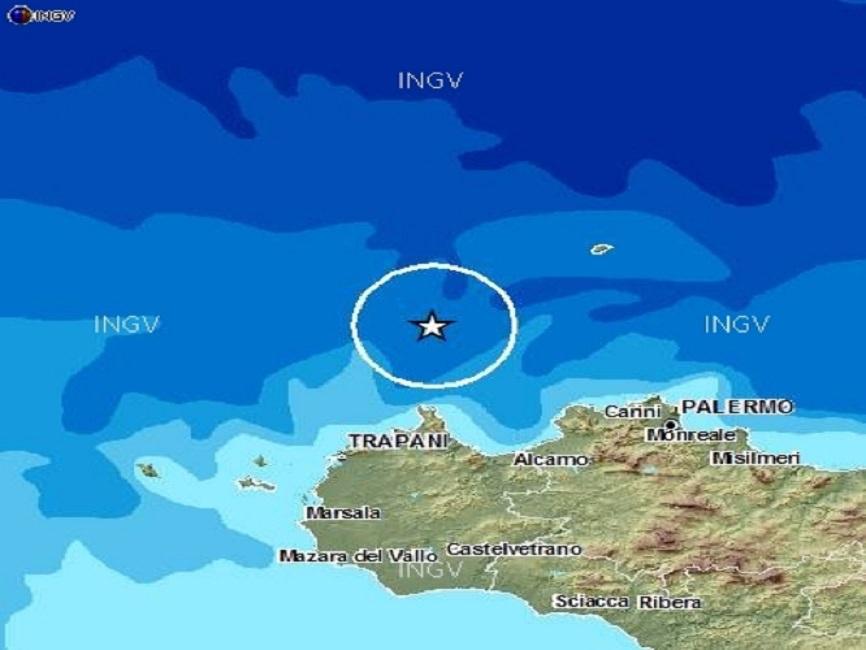 Trema la terra in Sicilia: due scosse di terremoto nella notte a Pantelleria e al largo delle isole Eolie