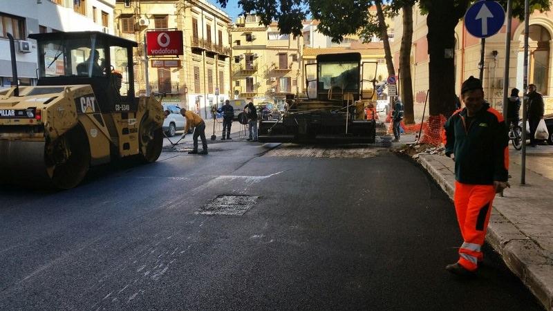 Palermo: cantieri Rap aperti per manutenzione strade e marciapiedi