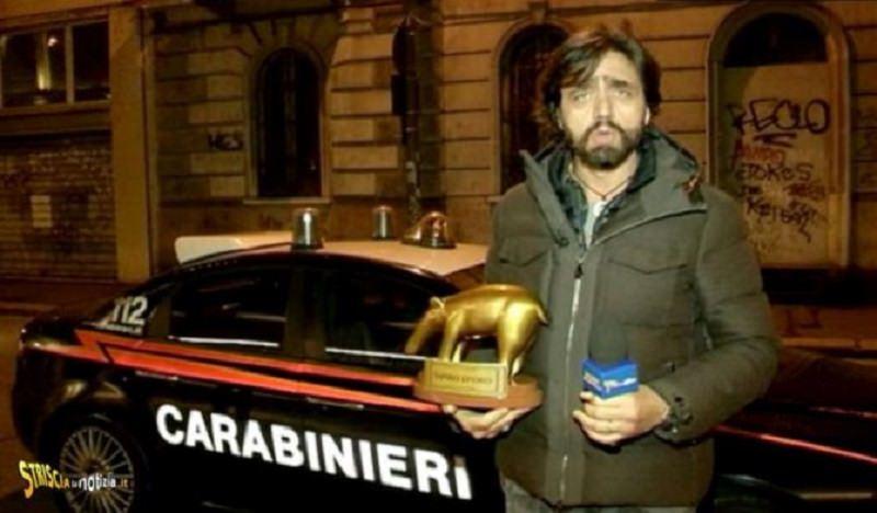 Belen contro Striscia: rifiuta tapiro e chiama i carabinieri
