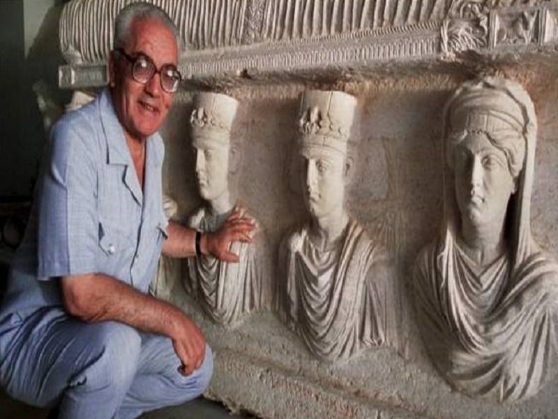 "Inaugurata oggi la saletta ""Khaled al-Asaad"" al museo archeologico Antonio Salinas"