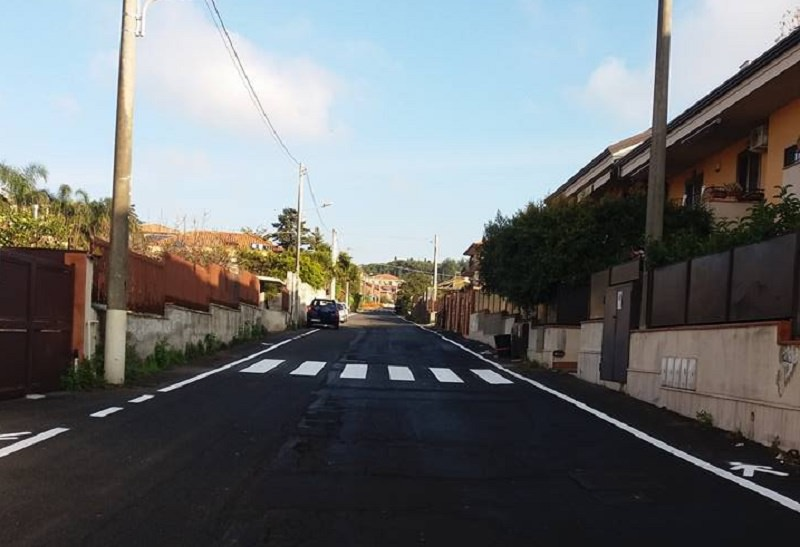 Comune di San Gregorio interviene su segnaletica stradale