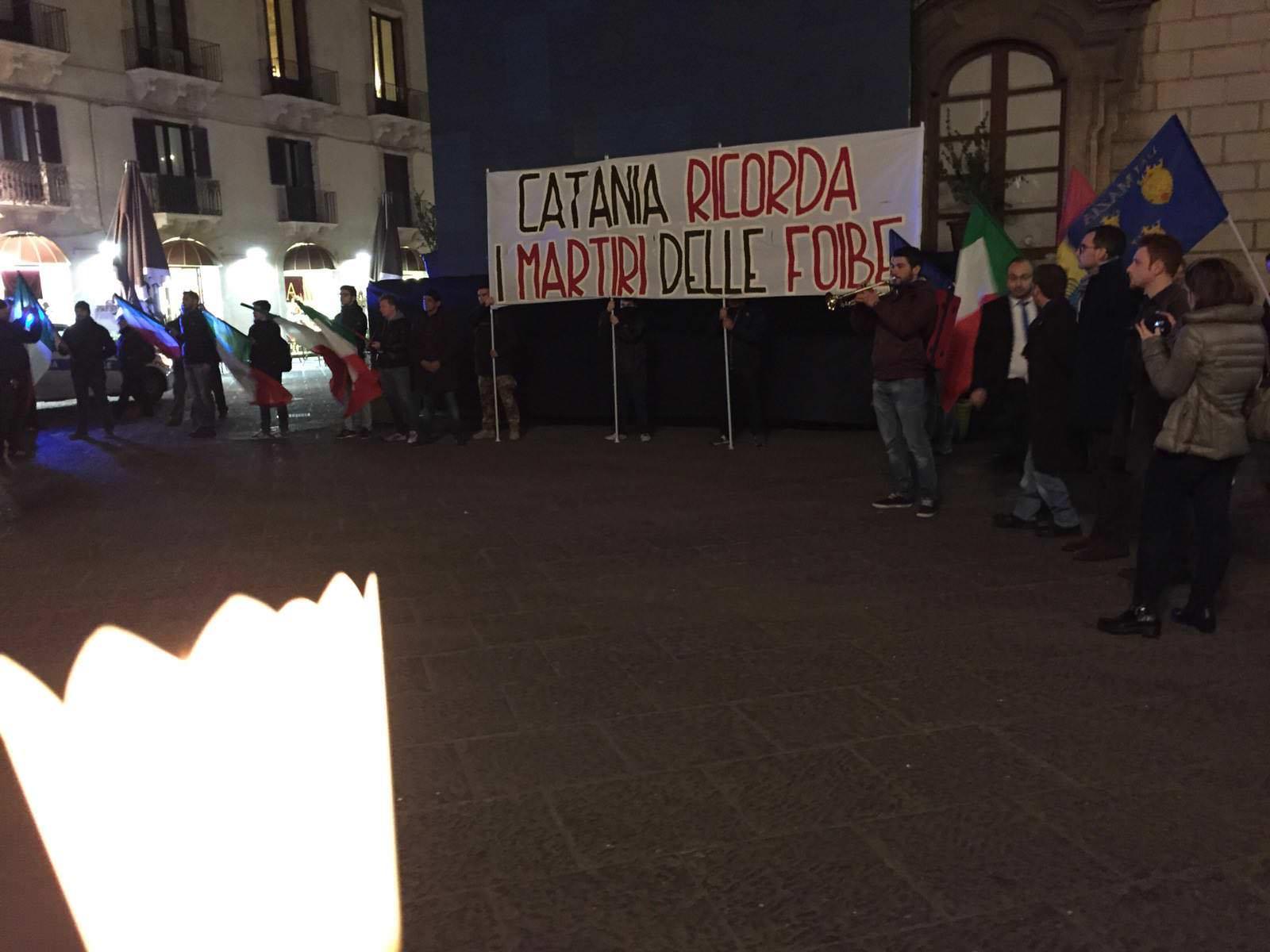 Nessun divario tra Nord e Sud: anche Catania ricorda vittime delle foibe