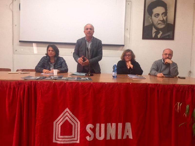 """Emergenza casa, Sunia chiede """"riunione periodica"""" con istituzioni"""