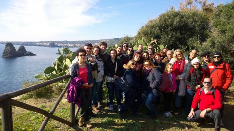 Cai di Taormina in visita all'Isola Lachea