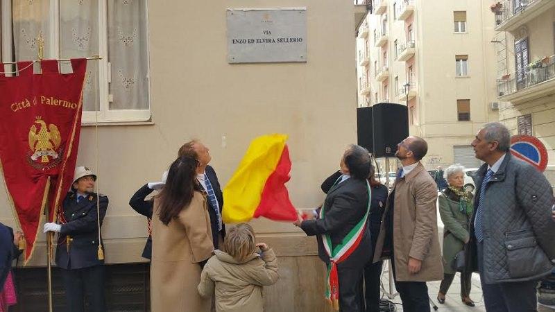 Palermo, tratto di via Siracusa intitolato agli editori Elvira ed Enzo Sellerio
