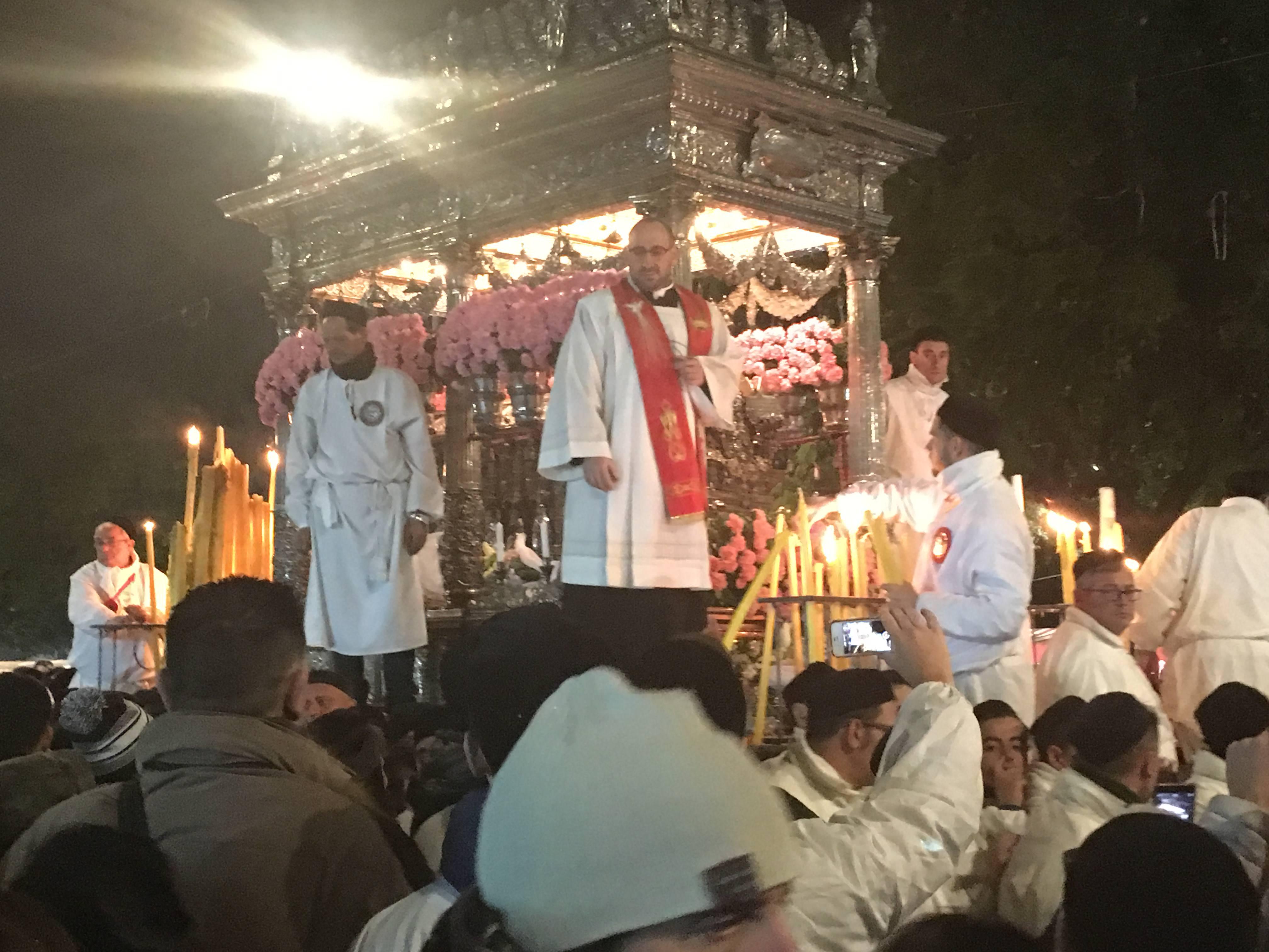 L'ultimo saluto di Sant'Agata alla città