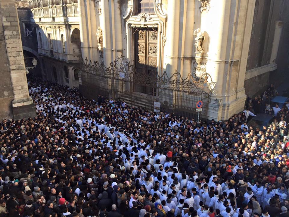Il pontificale in onore di Sant'Agata, l'omelia del cardinale Vallini