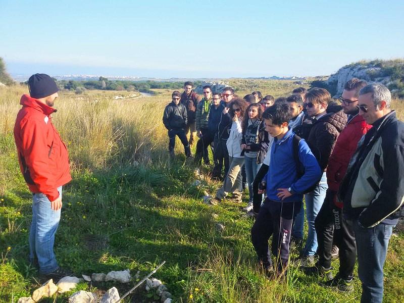 "Siracusa, studenti di Catania a ""lezione"" nelle riserve naturali"