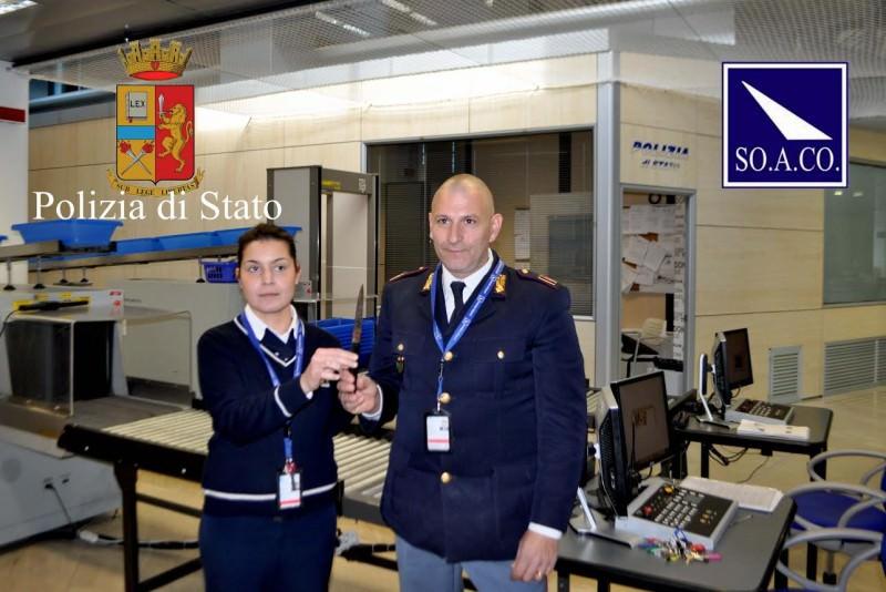 Comiso, un coltellaccio nascosto nel bagaglio: fermato nisseno all'aeroporto