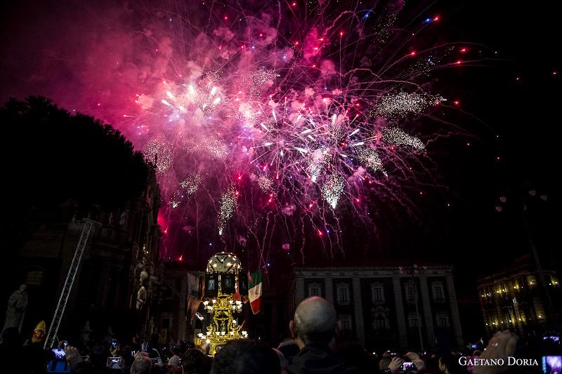 Scatti di Sicilia: la notte bianca per Sant'Agata