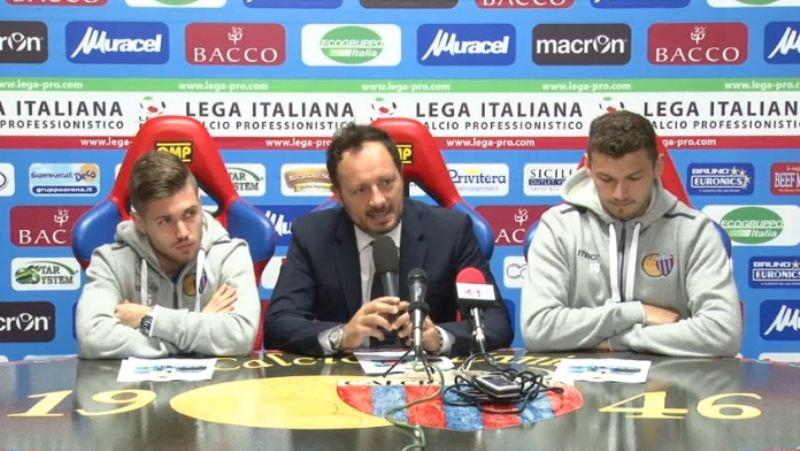 """Catania, presentati altri acquisti. Ferrigno: """"Concentrati su presente e futuro"""""""