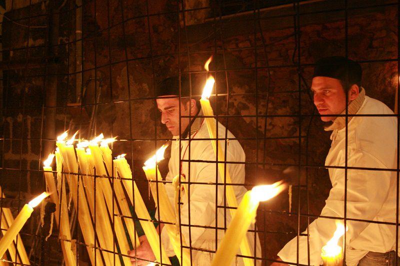 Festività agatine: la cera fra folclore e devozione