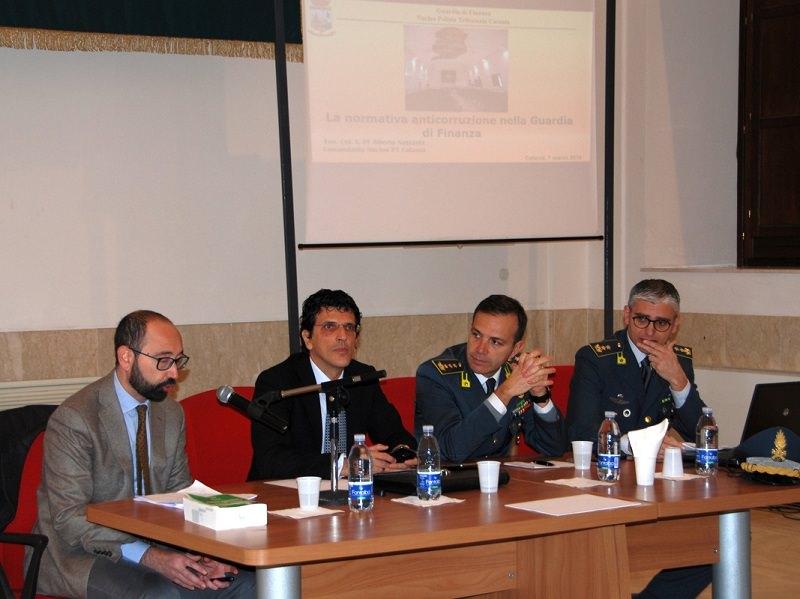GdF di Catania: riflettori su reati contro la pubblica amministrazione