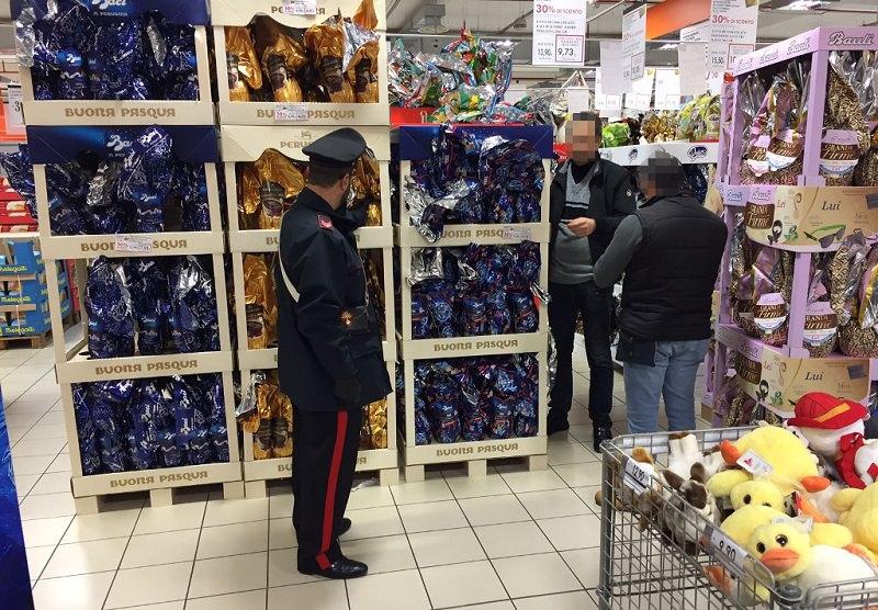 Palermo, interventi contro ladri di uova di Pasqua