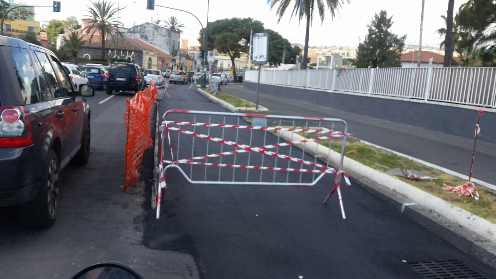 """Pista ciclabile Catania, lascia il direttore dei lavori: """"Troppe interferenze"""""""