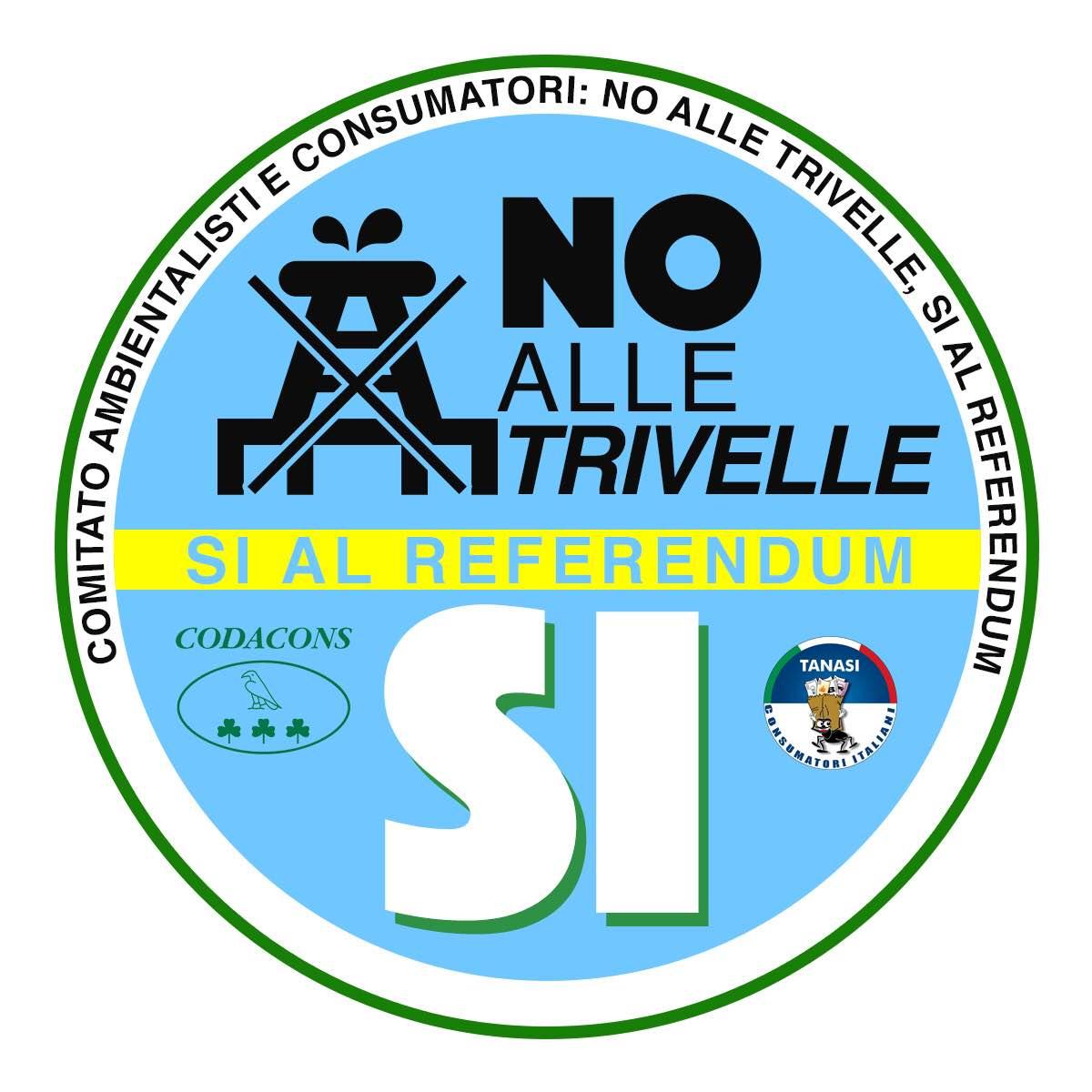 Catania, Codacons crea comitato per info su trivelle e referendum