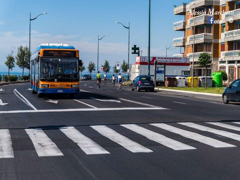 Lavori per le bici al Lungomare di Catania? Ma ci sono 4 linee di autobus