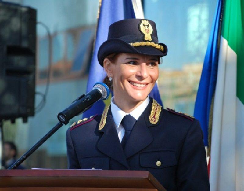 Al Quirinale la poliziotta catanese Marica Scacco