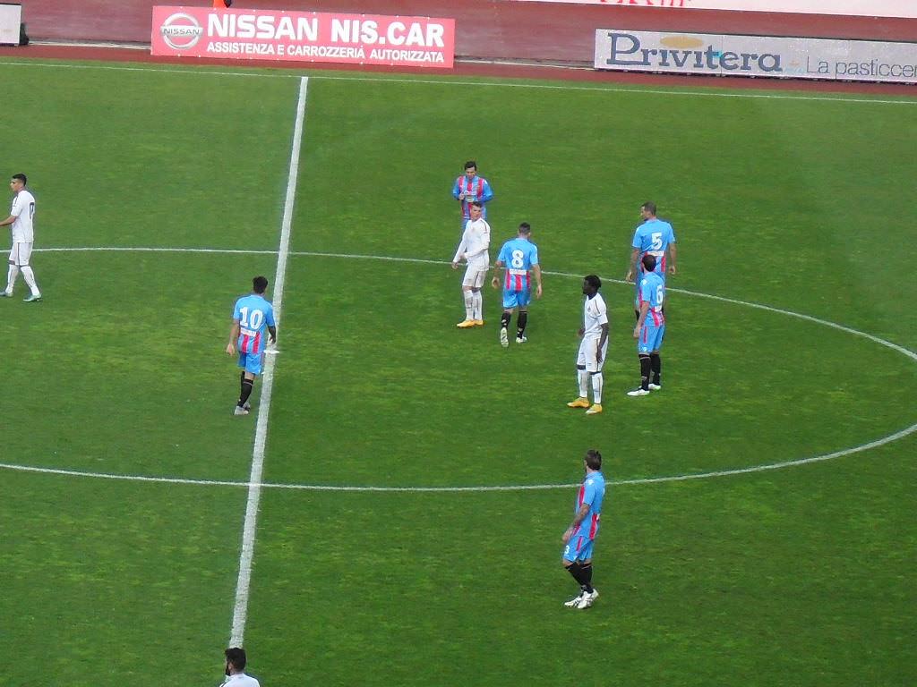 Diop risponde a Bombagi, pareggio inutile per il Catania