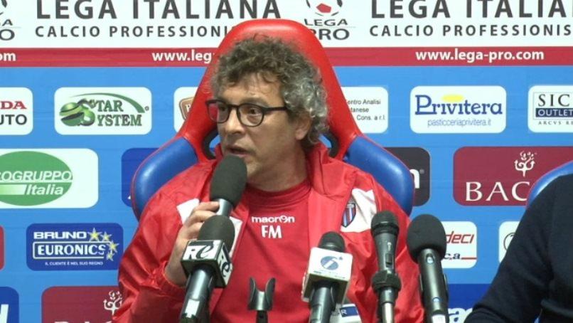 """Catania, Moriero: """"Akragas favorito, ma noi dobbiamo osare per riemergere"""""""