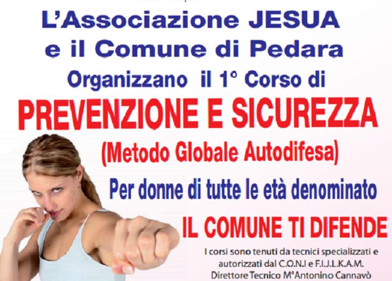Pedara, al via la seconda edizione del corso gratuito di autodifesa femminile