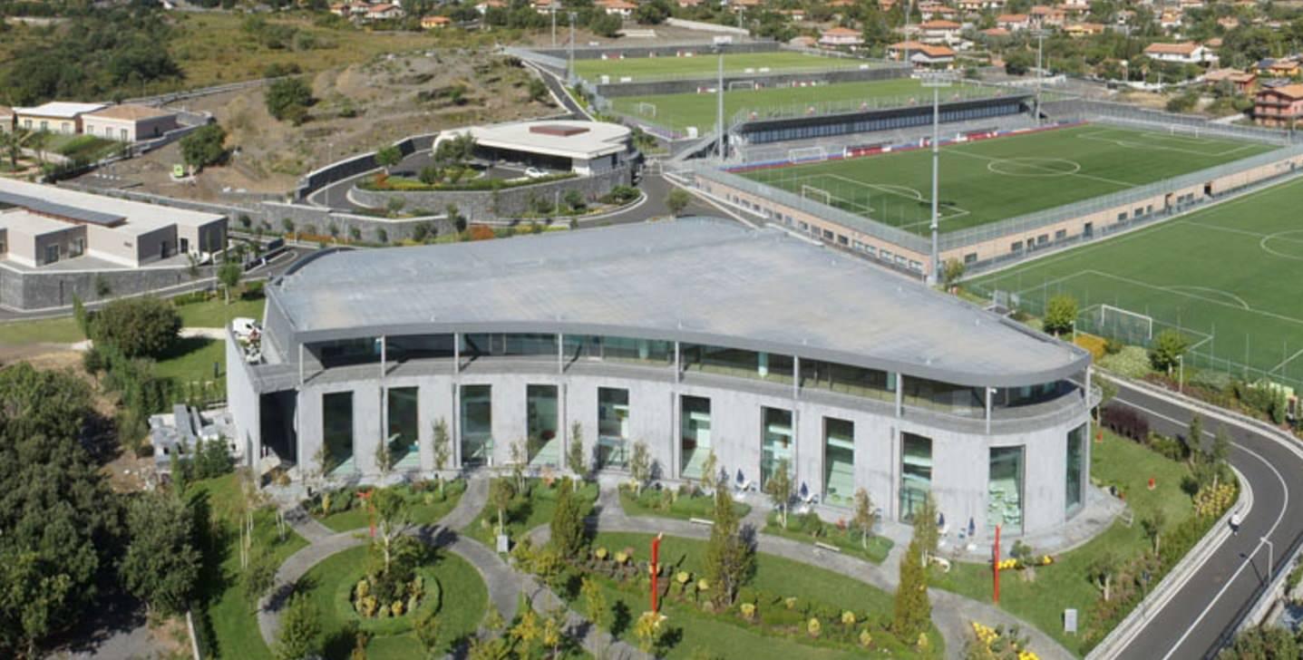 Calcio Catania, sopralluogo di una delegazione dei soci della Spa a Torre del Grifo