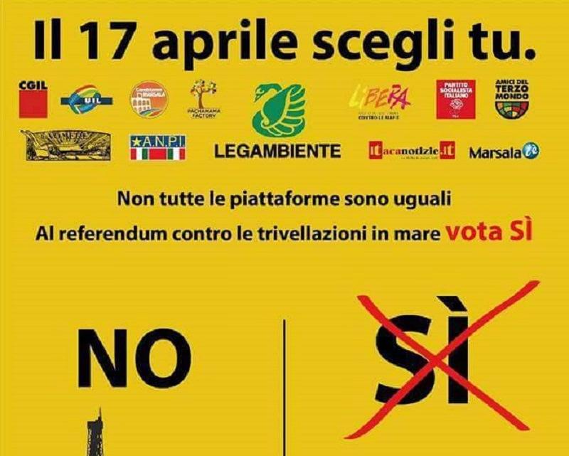 Trivelle e quel referendum che farà la differenza: SI o NO?