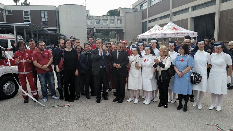 Palermo, nuovi mezzi di trasporto in dotazione alla Croce Rossa