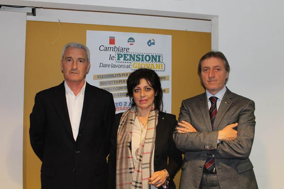 """""""Cambiare le pensioni, dare lavoro ai giovani"""", manifestazione anche a Trapani"""