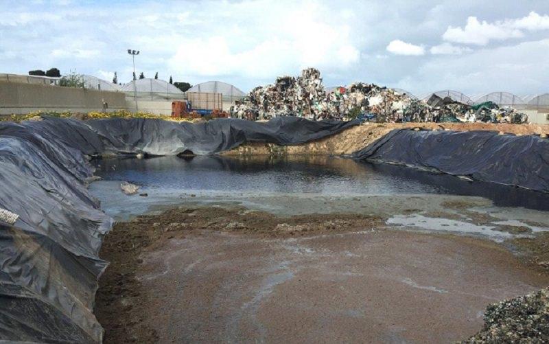Plastica e rifiuti speciali a pioggia. Sequestrati 40 mila mq di area industriale