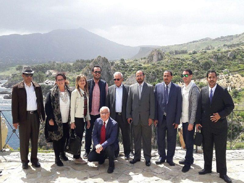 Delegazioni arabe entusiaste di Castellammare del Golfo