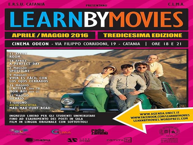"""Al via la tredicesima edizione della rassegna cinematografica """"Learn by Movies"""" a Catania"""