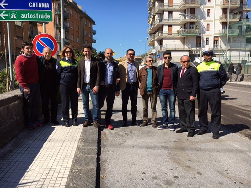 Tremestieri, sopralluogo del sindaco Rando in via Carnazza