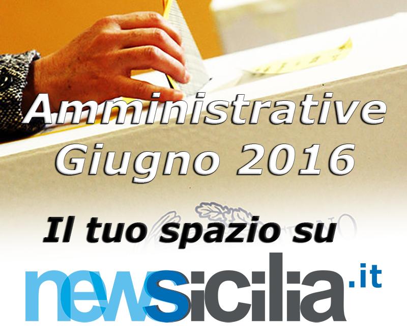 Elezioni amministrative del 05 giugno 2016