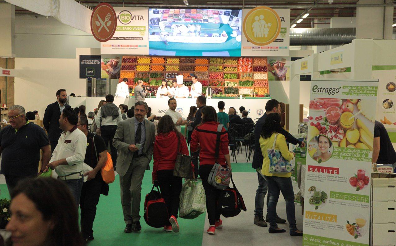 CamBIOvita Expo, buona la prima! Grande afflusso di visitatori all'Etnafiere