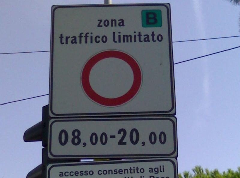 Ztl Palermo, vietata la circolazione da parte della Questura