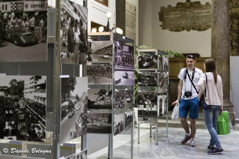 Una mostra di Franco Scafidi per festeggiare la Targa Florio