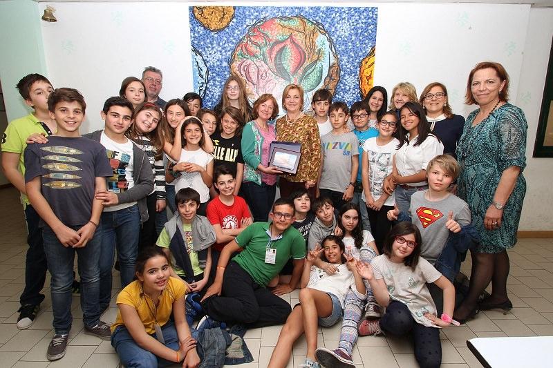 Catania, accolti alla Cavour studenti e professori di un collegio spagnolo