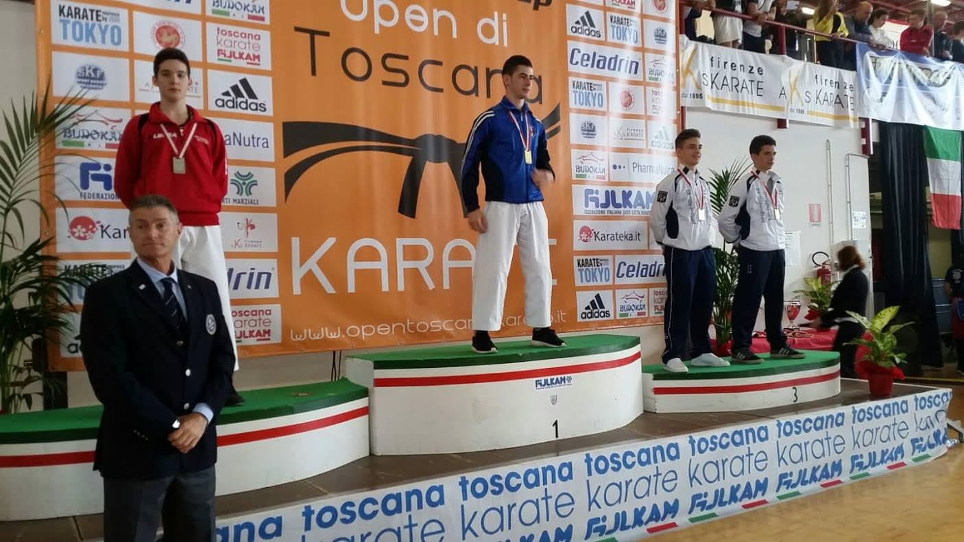 Continua la favola di Panagia: è oro agli Open di Toscana