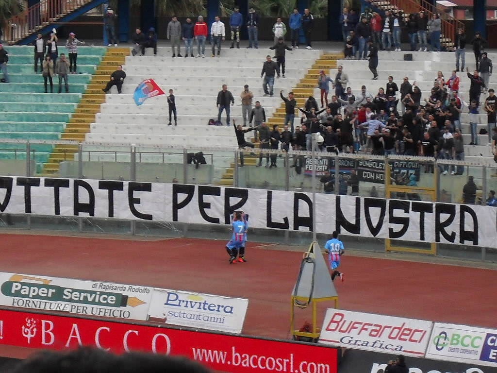 Game over al 'Massimino', il Catania mette in cassaforte la salvezza