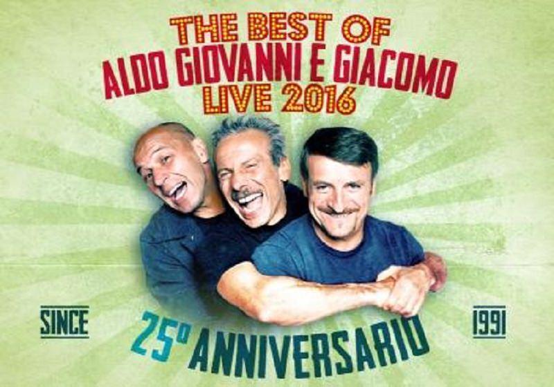 Aldo, Giovanni e Giacomo ad Acireale per festeggiare 25 anni di carriera