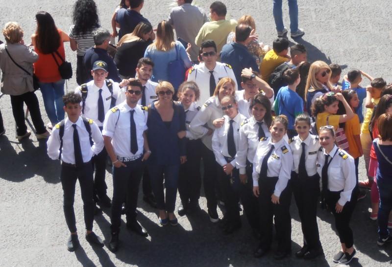 Rapporto con le istituzioni: scuola Duca degli Abbruzzi alla festa della polizia