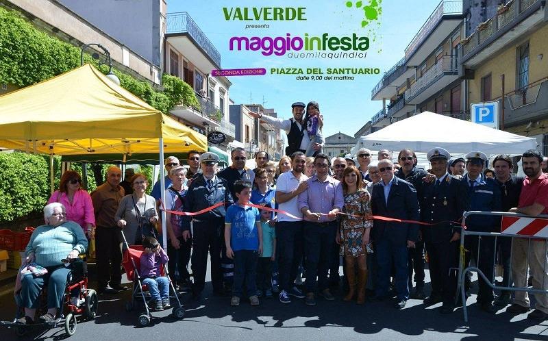 """Valverde, domenica in piazza del Santuario """"Maggio in festa"""""""