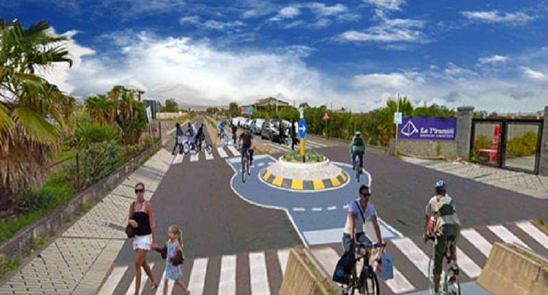 Playa di Catania: fondi non bastano per pista ciclabile al viale Kennedy